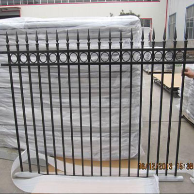 Ring And Spear Top Fencing