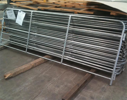 Steel Galvanized Used Wrought Iron Yard Fencing
