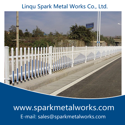 Algeria Wrought Iron Fence, Steel Fence China Supplier